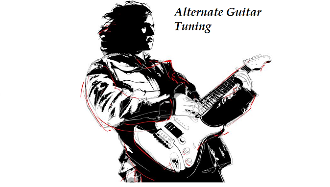alternate guitar tuning, alternate tuning, guitar tuning